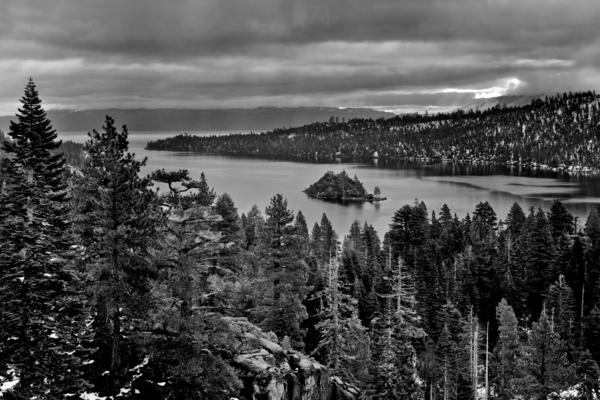 Emerald Bay View Art | Benko Art Gallery
