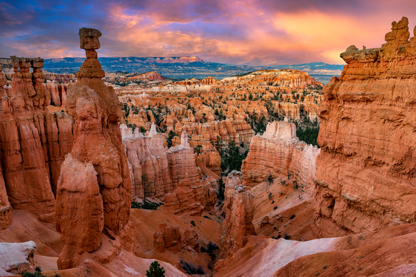 Art Print Bryce Canyon National Park Utah Thor's Hammer