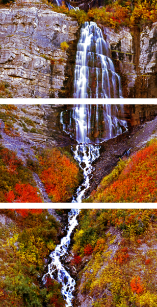 Bridal Veil Falls Photography Art | Art in Nature