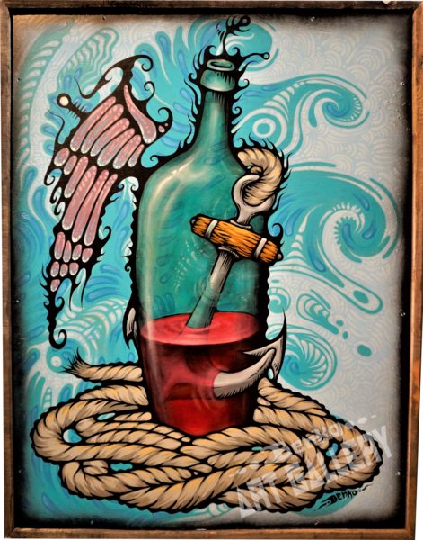 Sailor's Wine Art | Benko Art Gallery
