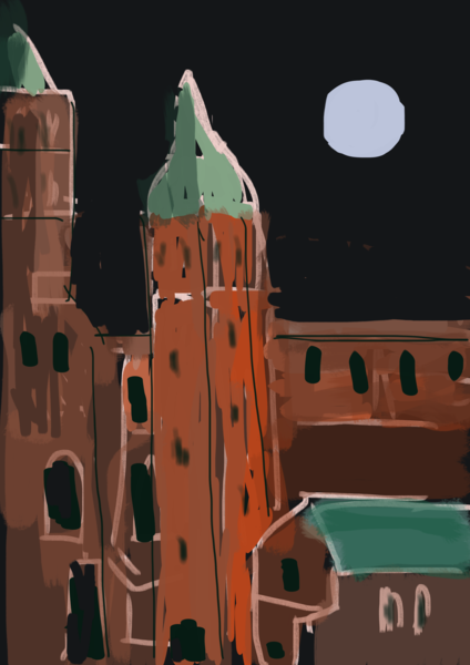 Italy At Night Art | stephengerstman