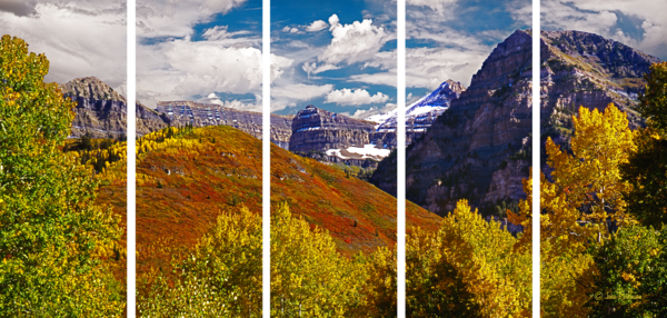 Timpanogos Backside Photography Art by artinnature