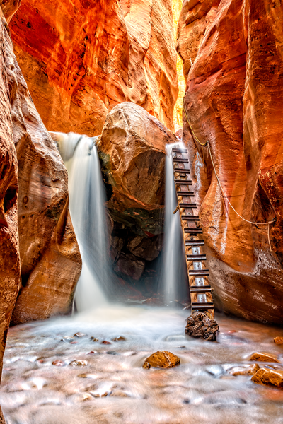 Art Print  Zion National Park Utah Kanarra Canyon