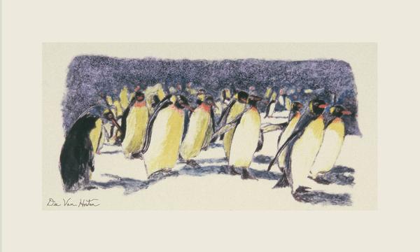 Rockhoppers Penguin Monotype