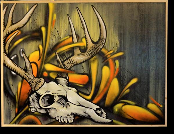 Deer SKull Original