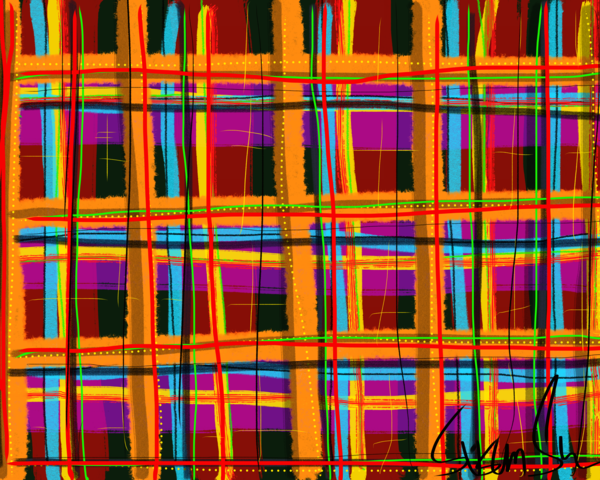 Rad Plaid Art | Susan Fielder & Associates, Inc.