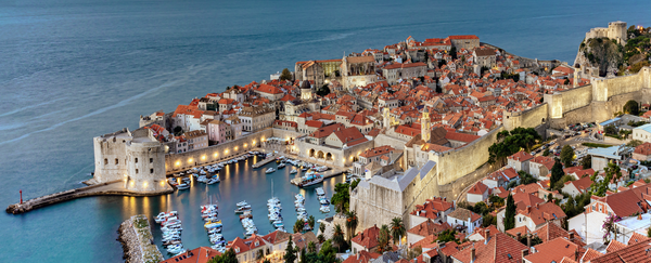 Art Print Dubrovnik Croatia Pearl of the Adriatic
