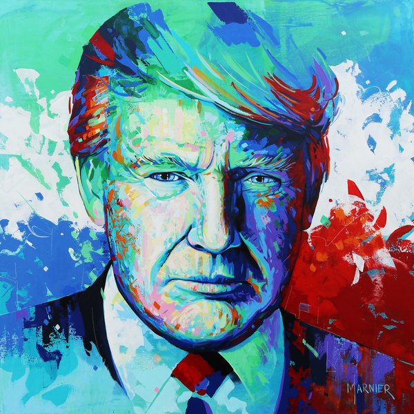 Donald Trump, United States President, Marnier, Art, Contemporary Prints