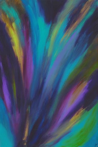 Northern Lights (Original) Art | Jen Sterling LLC