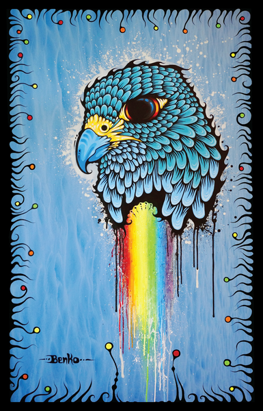 Horus Falcon Print
