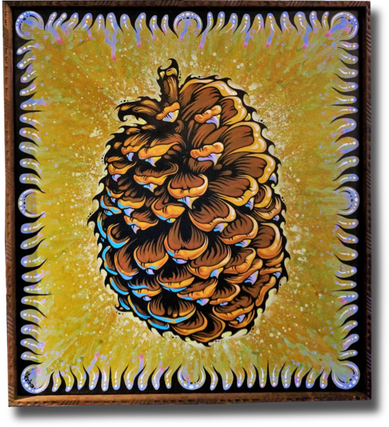 Jeffery Pine Cone Original