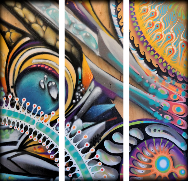 Electric Shaman Triptych