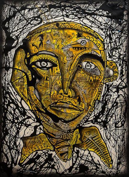 The Keeper Of Secrets 2 Art | Ralwins Art Gallery