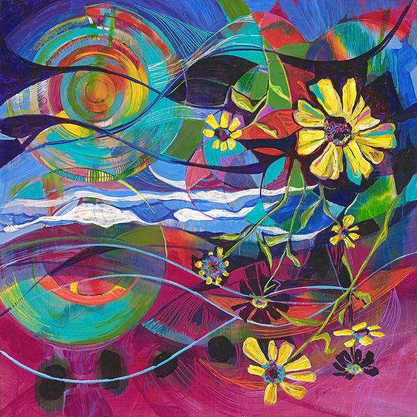 Ocean Daisies Art | Emily Tanaka - Have to Create
