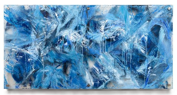"""Glacial Melt"" Original Multi Panel Plexi Acrylic Art | Daniel Kanow Fine Art"