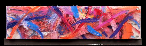 """Autumn"" Original Multi Panel Plexi Acrylic Art | Daniel Kanow Fine Art"