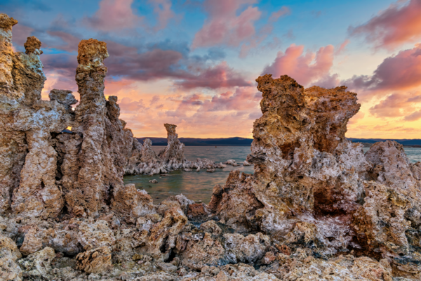 Art Print Mono Lake California Tufa Towers