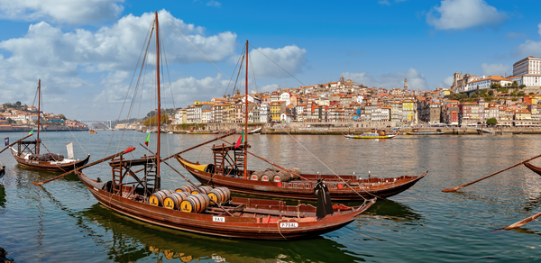 Art Print Porto Portugal Port Wine