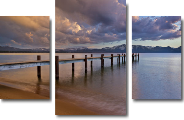 South Shore Glow Triptych