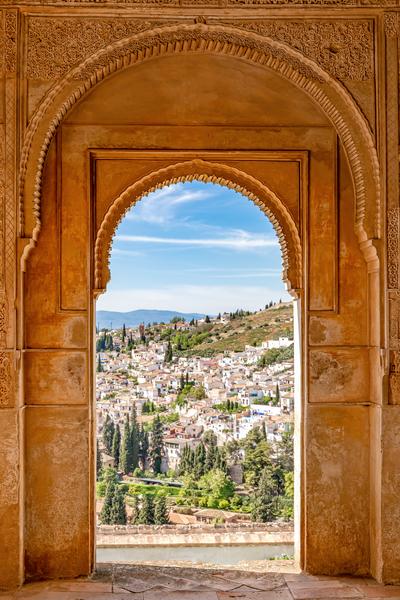 Art Print Alhambra Granada Spain Palace Grounds