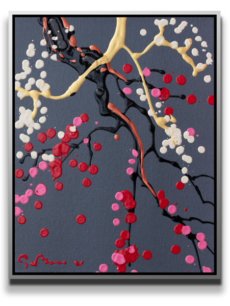 Plum + Peach [Sold] Art | MEUSE Gallery
