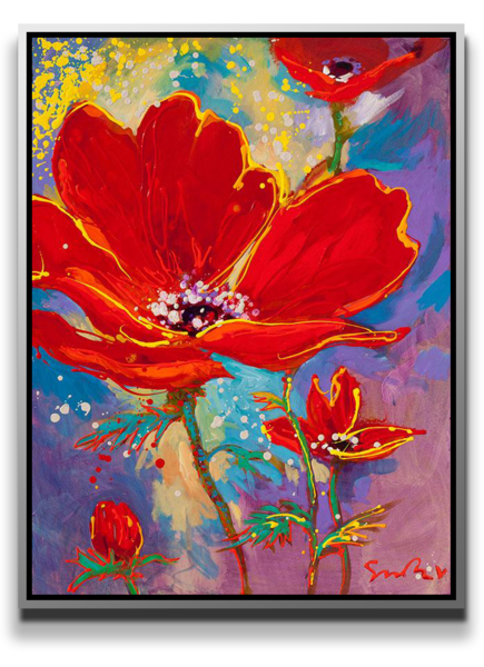 Rhapsody In Red [Sold] Art | MEUSE Gallery