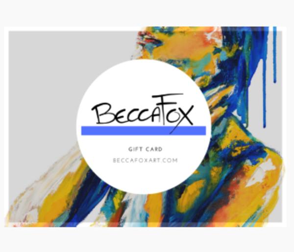 $25 Gift Card | Becca Fox Art