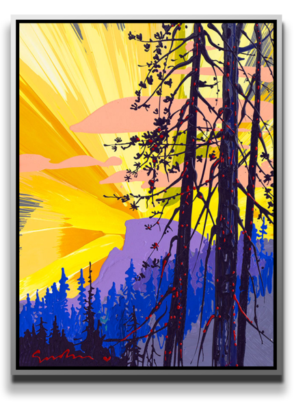 New Day Half Dome [Sold] Art | MEUSE Gallery