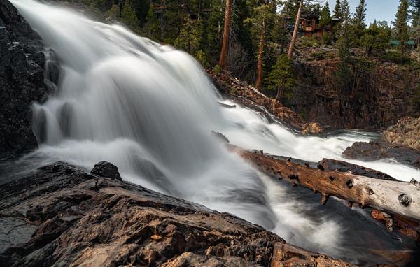 High Flow Profile I Lake Tahoe Landscape Photography I David N. Braun | Glen Alpine Falls