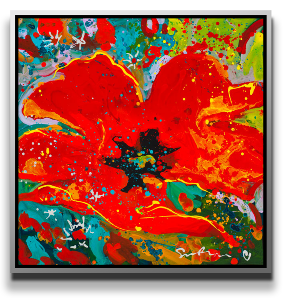 A World In A Flower [Sold] Art by meuse