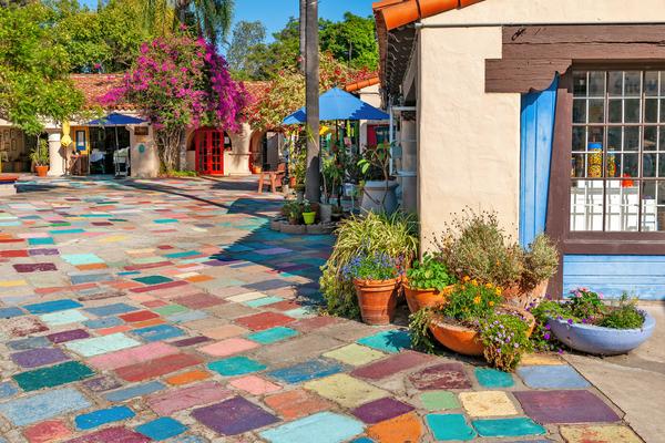 Art Print Balboa Park San Diego California Spanish Village