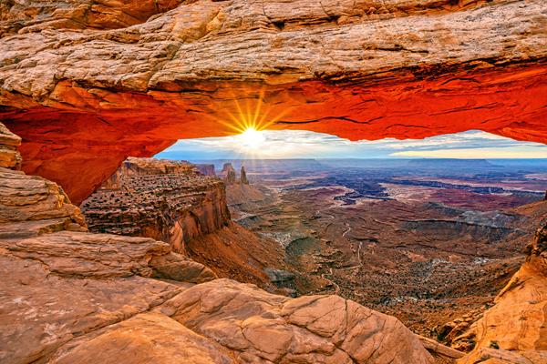 Art Print Canyonlands National Park Moab Utah Mesa Arch