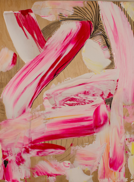 Feather Weight 1 Art | Makiko Harris Art