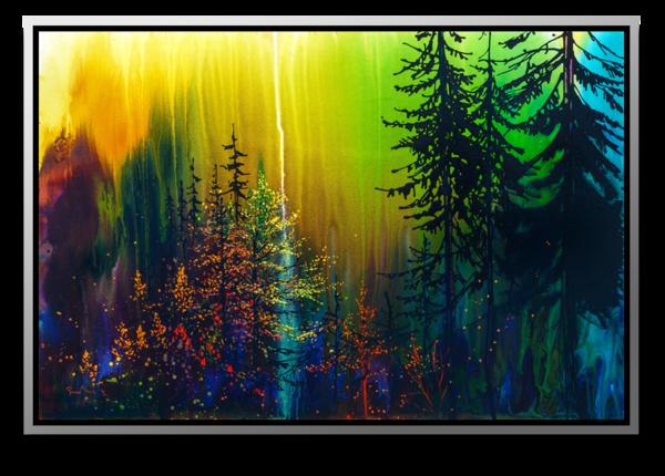 "Simon Bull Available Original Painting - ""Primeval"""