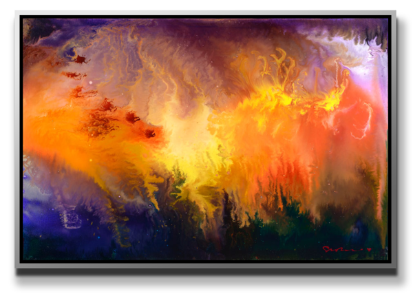 "Simon Bull Available Original Painting - ""Creation"""
