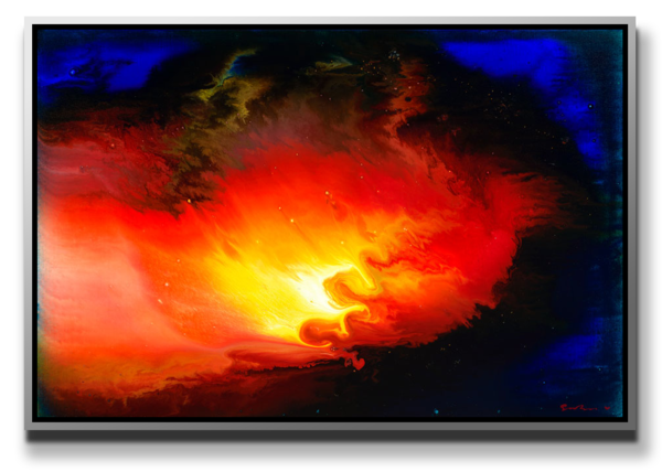 """Simon Bull Available Original Painting - """"Ancient of Days"""""""