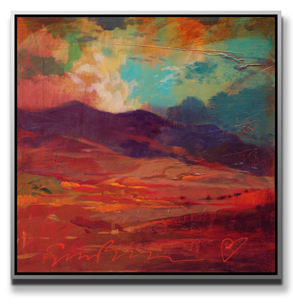 "Simon Bull Available Original Painting - ""Storm"""