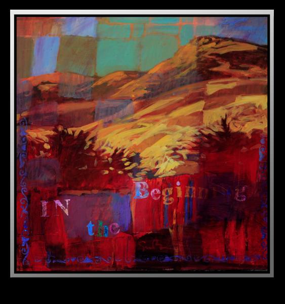 "Simon Bull Available Original Painting - ""Beginning"""