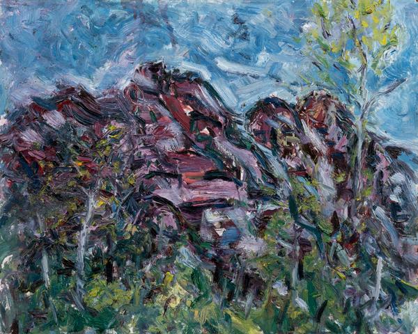 Red Stone, 2018 Art   Daniel Kanow Fine Art