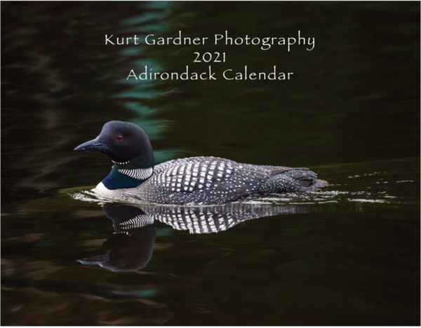 "(Sold Out) 2021 Large 14.5""X11.5"" Adirondack Calendar 
