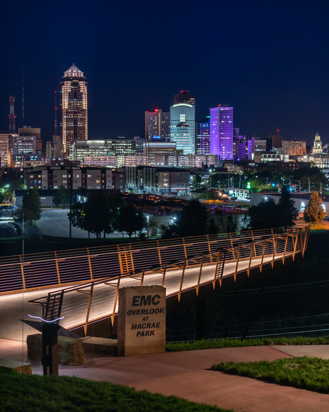 Emc Overlook Downtown Des Moines 2 Photography Art | Happy Hogtor Photography