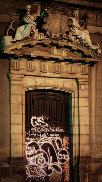 Graffiti In Barcelona Photography Art | Happy Hogtor Photography