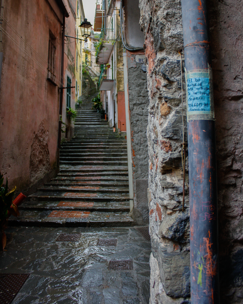 Stairs In Monterosso Photography Art | Happy Hogtor Photography