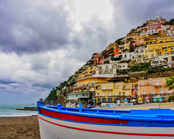 Amalfi Coast Photography Art | Happy Hogtor Photography