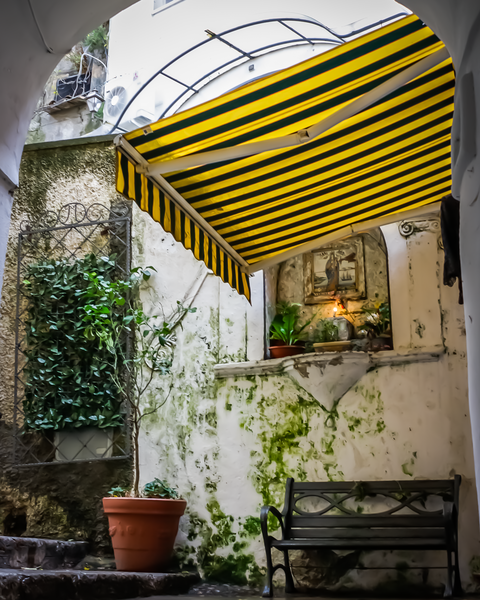 Santa Maria A Positano Photography Art | Happy Hogtor Photography
