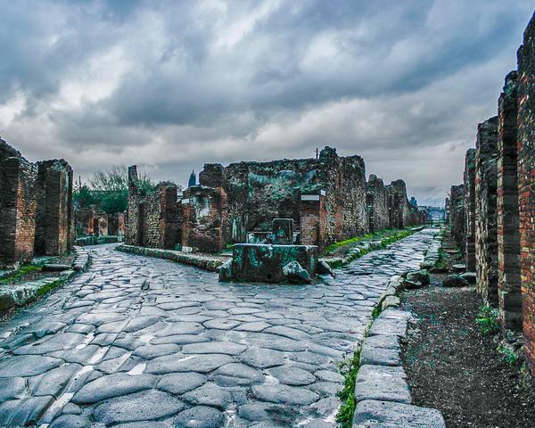 Pompeii After A Rain Photography Art | Happy Hogtor Photography