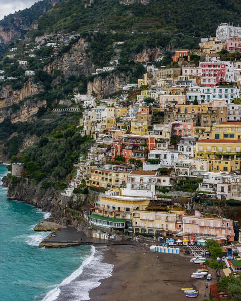 View Of Positano  Photography Art | Happy Hogtor Photography