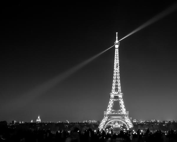 Eiffel At Night Photography Art | Happy Hogtor Photography