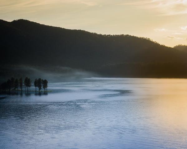 Foggy Lake Sylvan Photography Art | Happy Hogtor Photography