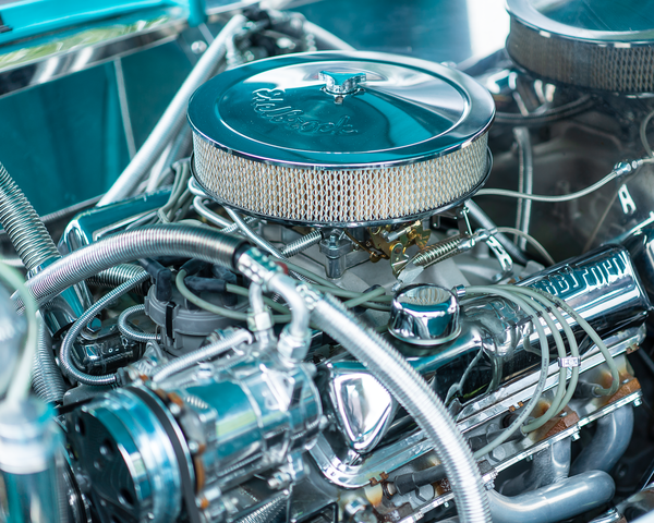 1956 Bel Air V8 Photography Art | Happy Hogtor Photography